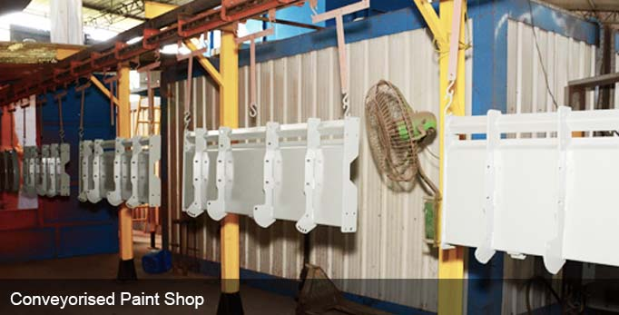 Conveyorised Paint Shop